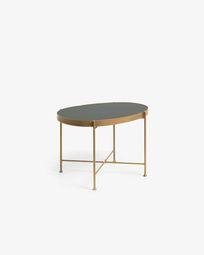 Βοηθητικό τραπέζι Marlet Ø 45 x 63 εκ, χρυσό