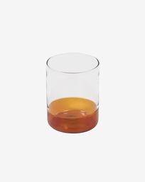 Ποτήρι Dorana, πορτοκαλί και διάφανο