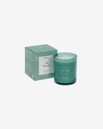 On the top aromatic candle