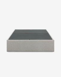Storage bed base Matters 160 x 200 cm grey