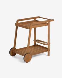 Τρόλεϊ  Felisa FSC 100% μασίφ ξύλο ακακίας