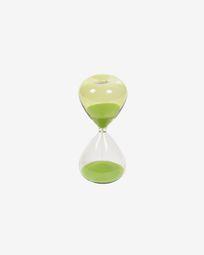 Breshna green hourglass 14 cm
