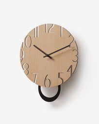 Επιτοίχιο ρολόι Peters Ø 30 εκ