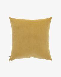 Mustard corduroy Namie cushion cover 60 x 60 cm