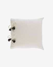 Κάλυμμα μαξιλαριού Varina, 100% βαμβάκι, 45 x 45 εκ, λευκό