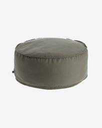 Round Ø 70 cm Grey Nedra pouf