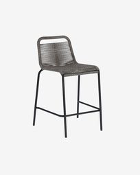 Lambton grey stool height 62 cm