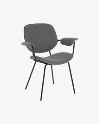 Καρέκλα Naiquen, ανοιχτό γκρι