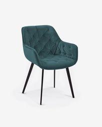 Καρέκλα Mulder, τυρκουάζ βελούδο