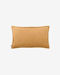 Κάλυμμα μαξιλαριού Blok, λινό μουσταρδί, 30 x 50 εκ
