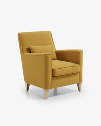 Mustard Glam armchair