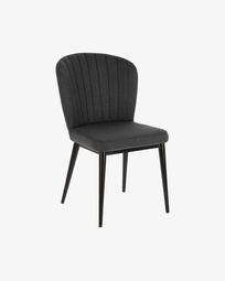 Madge dark grey chair