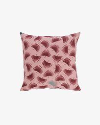 Κάλυμμα μαξιλαριού Berharnu 45 x 45 εκ, ροζ