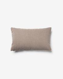 Κάλυμμα μαξιλαριού Kam 30 x 50 εκ, καφέ