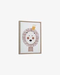 Uriana lion picture 30 x 42 cm