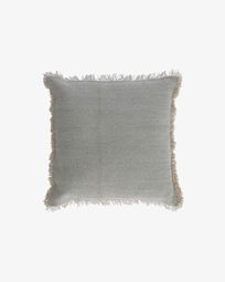 Κάλυμμα μαξιλαριού Camily 45 x 45 εκ, ανοιχτό γκρι