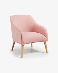 Πολυθρόνα Bobly, ροζ