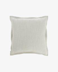 Κάλυμμα μαξιλαριού Maelina 60 x 60 εκ, λευκό