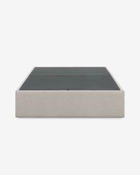 Βάση κρεβατιού με αποθηκευτικό χώρο Matters, 160 x 200 εκ, μπεζ