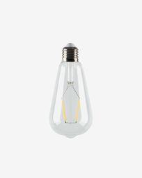 Halogen LED Bulb E27 of 4W and 65 mm warm light