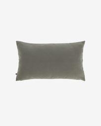 Κάλυμμα μαξιλαριού Nedra 30 x 50 εκ, γκρι