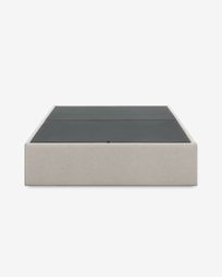 Βάση κρεβατιού με αποθηκευτικό Matter 140 x 190 εκ, μπεζ