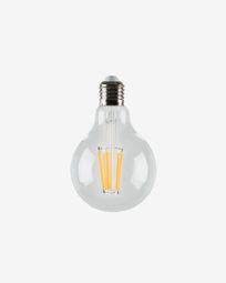 Halogen LED Bulb E27 of 4 W and 80 mm warm light