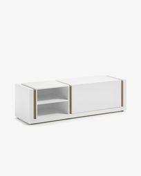 Έπιπλο τηλεόρασης DE 140 x 42 εκ, λευκό
