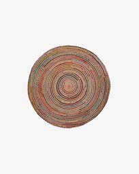 Saht carpet Ø 100 cm multicolor