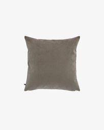 Dark grey corduroy Namie cushion cover 45 x 45 cm
