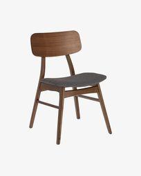 Καρέκλα Selia, φινίρισμα καρυδιάς