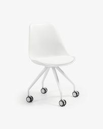 Καρέκλα γραφείου Ralf, λευκό