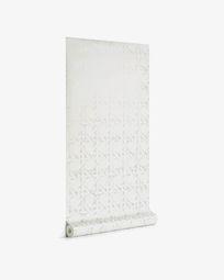 Viveka 10 x 0,53 m grey and silver wallpaper FSC MIX Credit