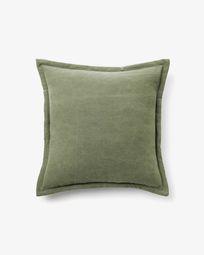 Lisette cushion cover 45 x 45 cm in green