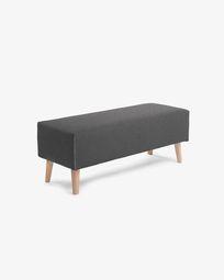 Graphite Dyla bench 111 cm